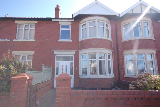 Thumbnail Terraced house to rent in Eastbourne Road, Blackpool