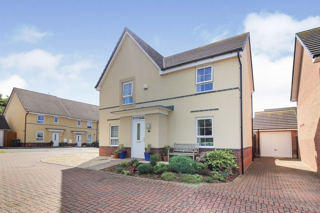 Thumbnail Detached house for sale in Lloyd Close, Worcester