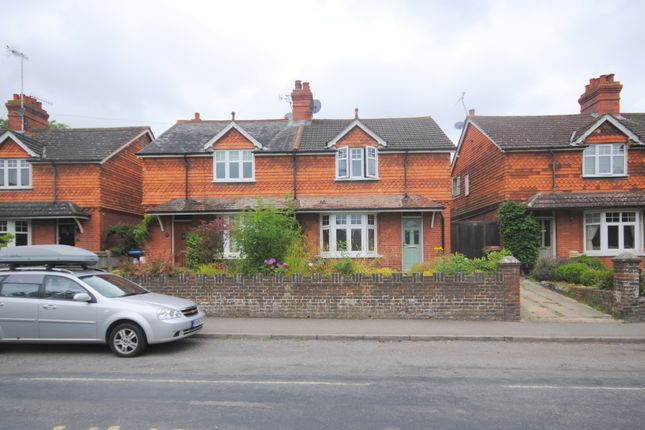 Thumbnail Semi-detached house to rent in Vicarage Road, Lingfield