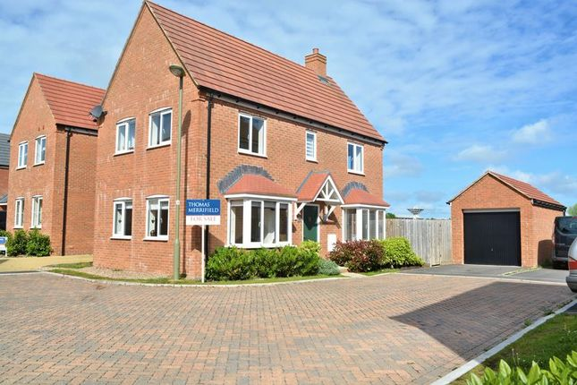Thumbnail Detached house for sale in Baths Road, Chilton, Didcot