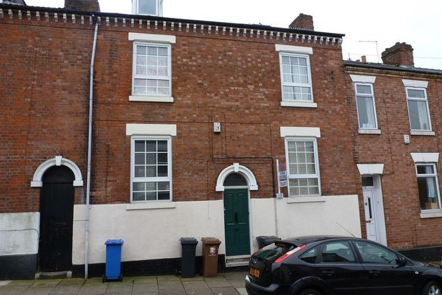 Thumbnail Terraced house to rent in Crompton Street, Derby