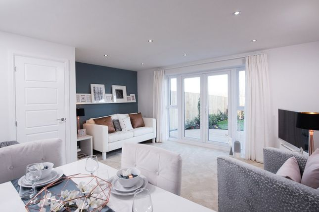 "Thumbnail Semi-detached house for sale in ""Barwick"" at Kepple Lane, Garstang, Preston"