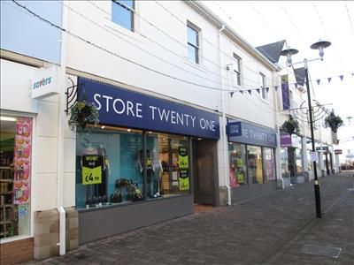 Thumbnail Retail premises to let in 21-22 Merlin's Walk, Carmarthen