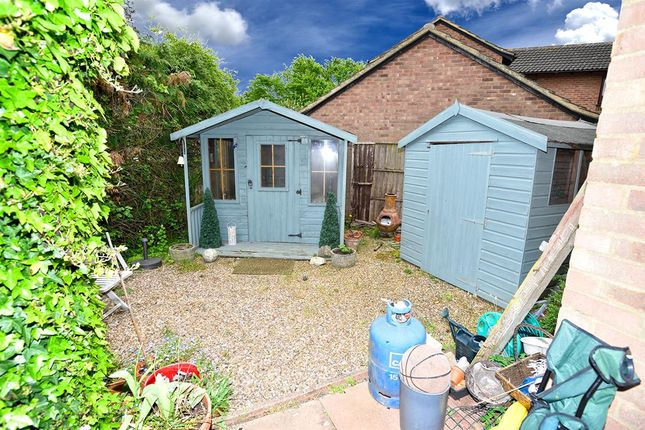 Rear Garden of Edgecote, Great Holm, Milton Keynes MK8