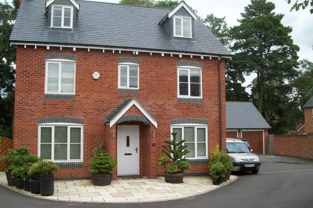 Thumbnail Detached house to rent in Wellcroft, Myddle, Shrewsbury