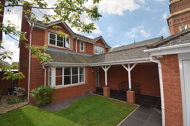 Thumbnail Detached house for sale in Clyst Heath, Exeter