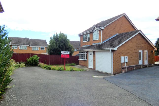 Front View of Danbury Drive, Stadium Estate, Leicester LE4