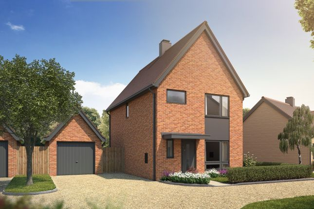 Thumbnail Detached house for sale in Nugent Close, Dunsfold, Godalming