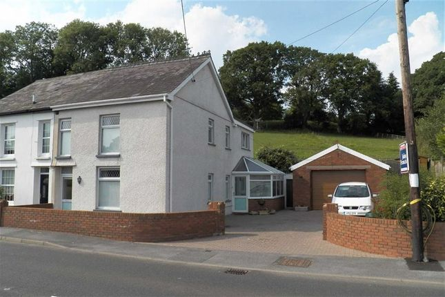 Thumbnail Semi-detached house for sale in Nantgaredig, Carmarthen