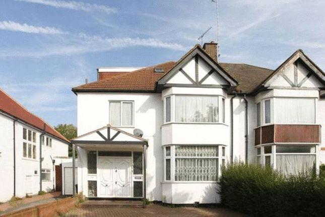 Thumbnail Semi-detached house to rent in Dunstan Road, Golders Green