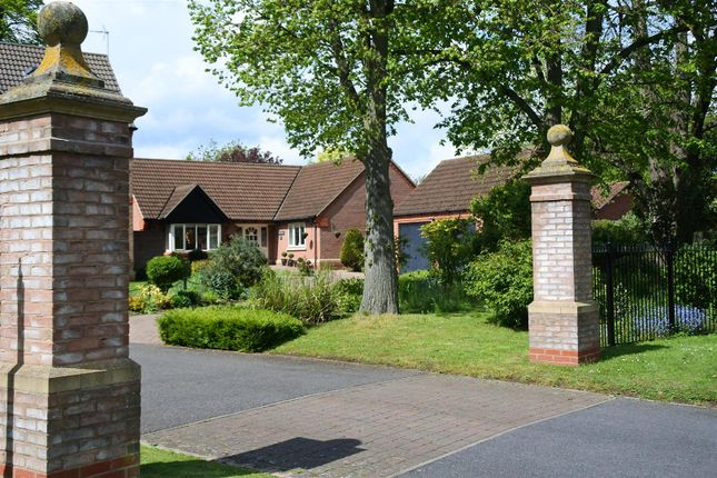Thumbnail Bungalow for sale in Kings Gardens, Gonerby Hill Foot, Grantham