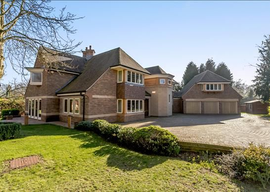 Thumbnail Detached house for sale in The Orchards, Sutton Coldfield, West Midlands
