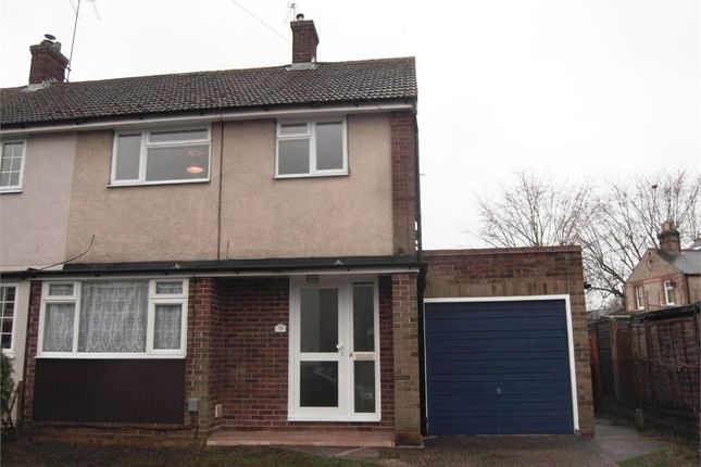 Thumbnail Semi-detached house to rent in Cromwell Road, Cheshunt, Waltham Cross, Hertfordshire