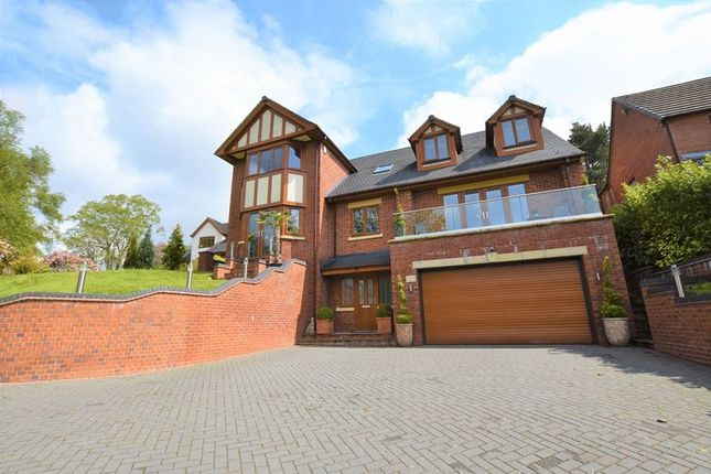 Thumbnail Detached house for sale in Cheddleton Road, Leek