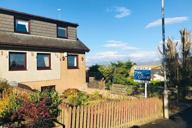 Thumbnail Semi-detached house for sale in Gartferry Road, Chryston