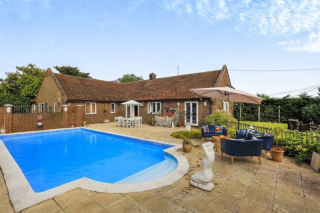 Thumbnail Bungalow for sale in Crooks Court Lane, West Hougham, Dover