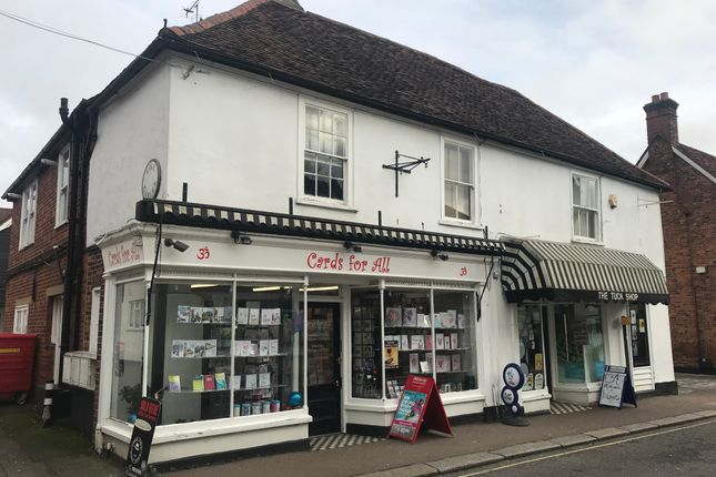Thumbnail Retail premises to let in Bell Street, Sawbridgeworth