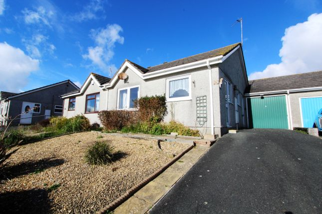 Thumbnail Semi-detached bungalow for sale in Grove Park, Torpoint, Cornwall