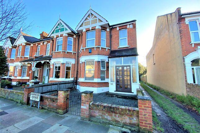 Thumbnail End terrace house for sale in Empress Avenue, London