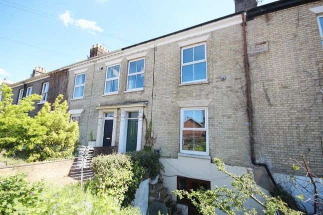 Thumbnail Terraced house to rent in Grove Road, Norwich