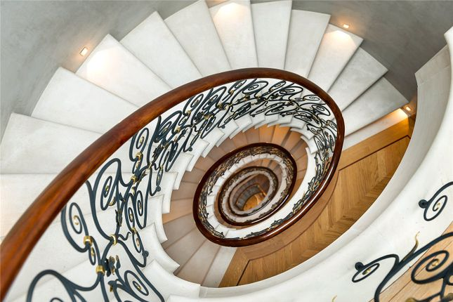 Stairs of Draycott Place, Chelsea, London SW3