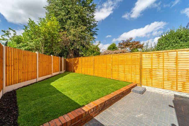 Back Garden of Goldsmith Road, Kings Heath, Birmingham B14
