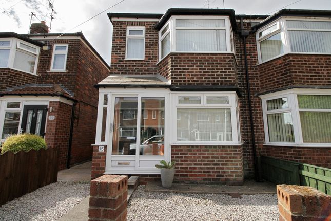 Thumbnail End terrace house for sale in Camborne Grove, Hull