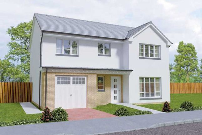 Thumbnail Detached house for sale in The Dochart, Craighill, Fairlie, Ayrshire