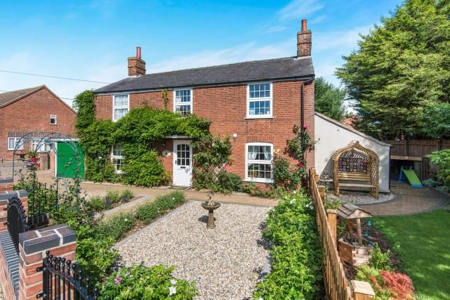 Thumbnail Detached house for sale in Freethorpe, Norwich, Norfolk