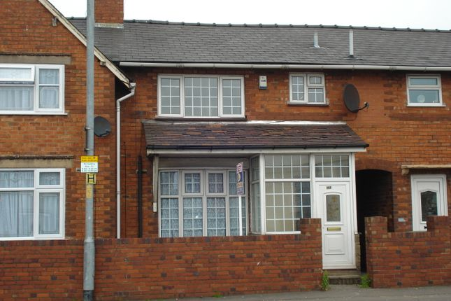 Thumbnail Terraced house to rent in Wolverhampton Road, Walsall