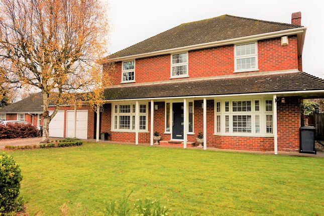 Thumbnail Detached house for sale in Knights Templar Way, High Wycombe