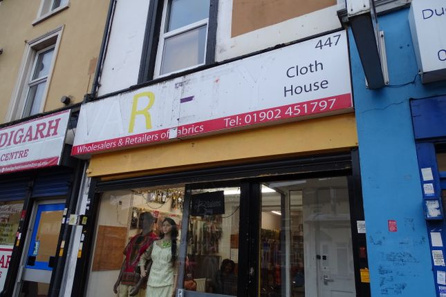 Retail premises to let in Dudley Road, Wolverhampton