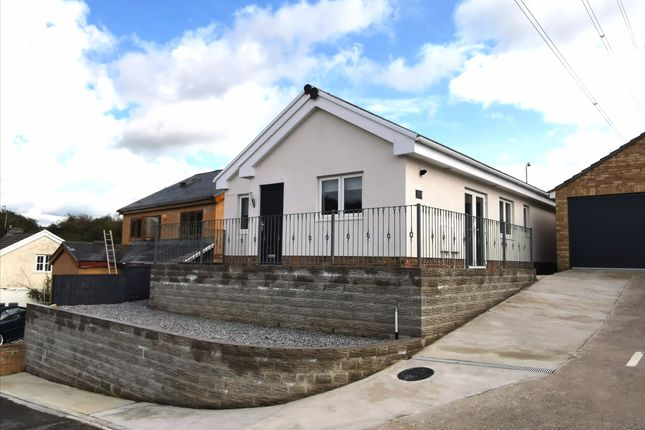 Thumbnail Bungalow for sale in Crown Road, Kenfig Hill
