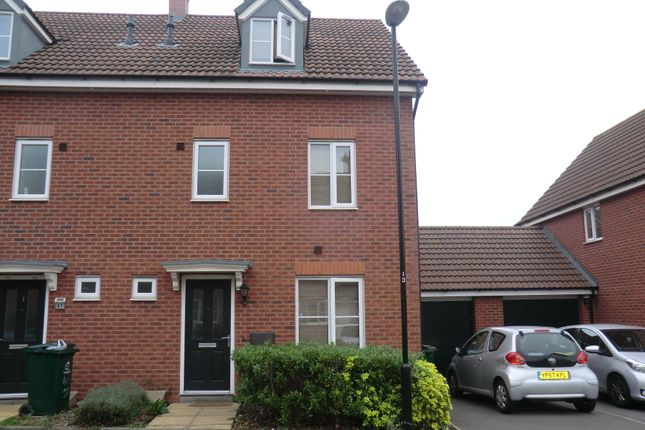 Thumbnail Terraced house to rent in Shropshire Drive, Stoke, Coventry