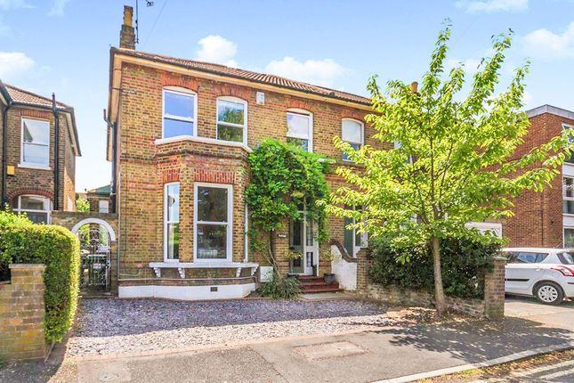 Thumbnail Semi-detached house for sale in Hinton Road, Wallington, Surrey