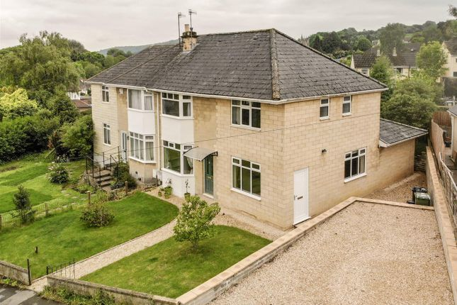 Thumbnail Semi-detached house for sale in Eagle Road, Batheaston, Bath