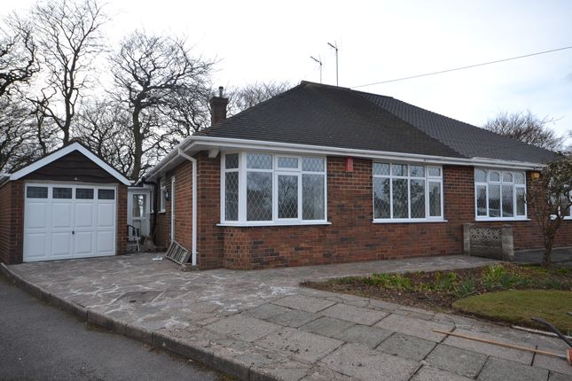 Thumbnail Semi-detached bungalow to rent in Heathfield Grove, Longton, Stoke-On-Trent