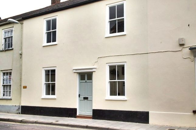 Thumbnail Terraced house to rent in Silver Street, Axminster