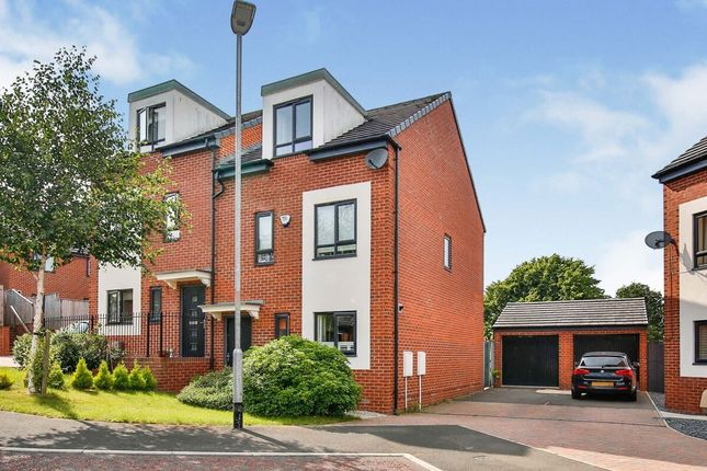Thumbnail Semi-detached house for sale in Wells Grove, Durham