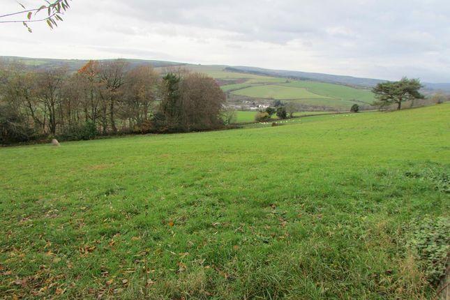 Thumbnail Land for sale in Buckfastleigh