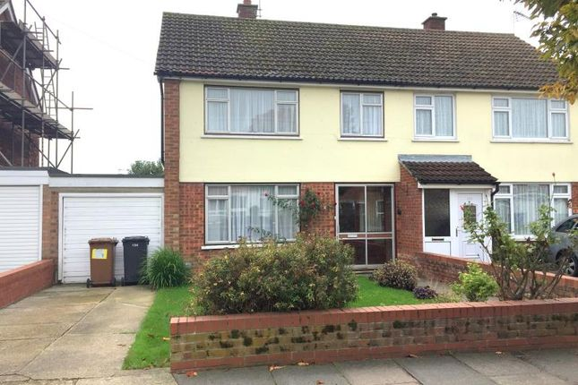 Thumbnail Semi-detached house to rent in Defoe Road, Ipswich