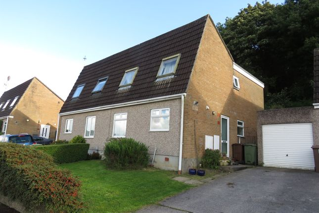 Thumbnail Semi-detached house for sale in Sparke Close, Plympton, Plymouth