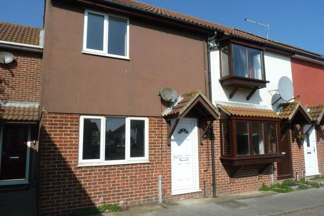 Thumbnail Terraced house to rent in Church Meadow, Sholden, Deal