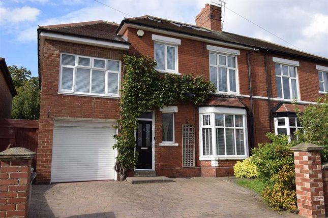 Thumbnail 5 bed semi-detached house for sale in Readhead Road, South Shields