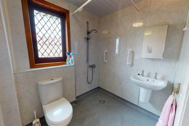 Shower Room of Wardlaw Crescent, Oakley, Dunfermline KY12