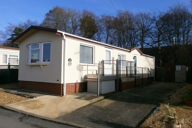Thumbnail Bungalow for sale in Fengate Mobile Home Park, Fengate, Peterborough