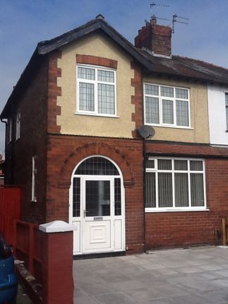 Thumbnail Semi-detached house to rent in Donsby Road, Aintree, Liverpool, Merseyside