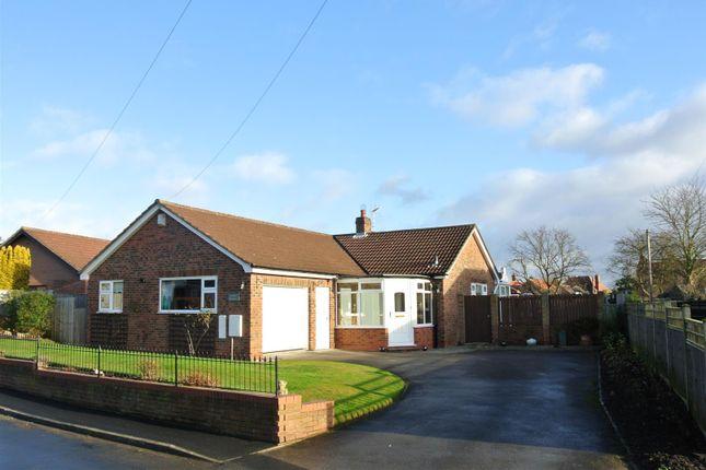 Thumbnail Detached bungalow for sale in Back Lane, Copmanthorpe, York