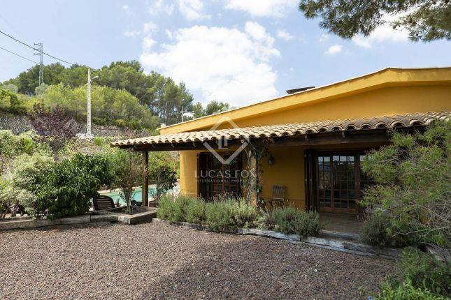Thumbnail Villa for sale in Spain, Barcelona, Sitges, Olivella / Canyelles, Sit11372