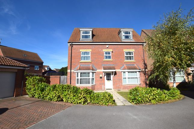 Thumbnail Detached house for sale in Comet Court, Auckley, Doncaster